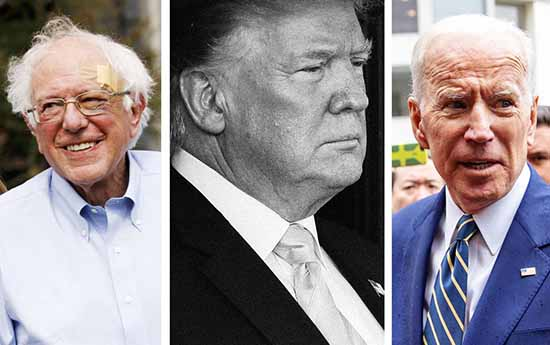 Biden and Sanders Are Ahead of Trump