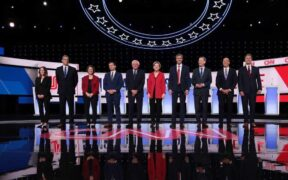 Second Round For The Democratic Presidential Candidates In Detroit