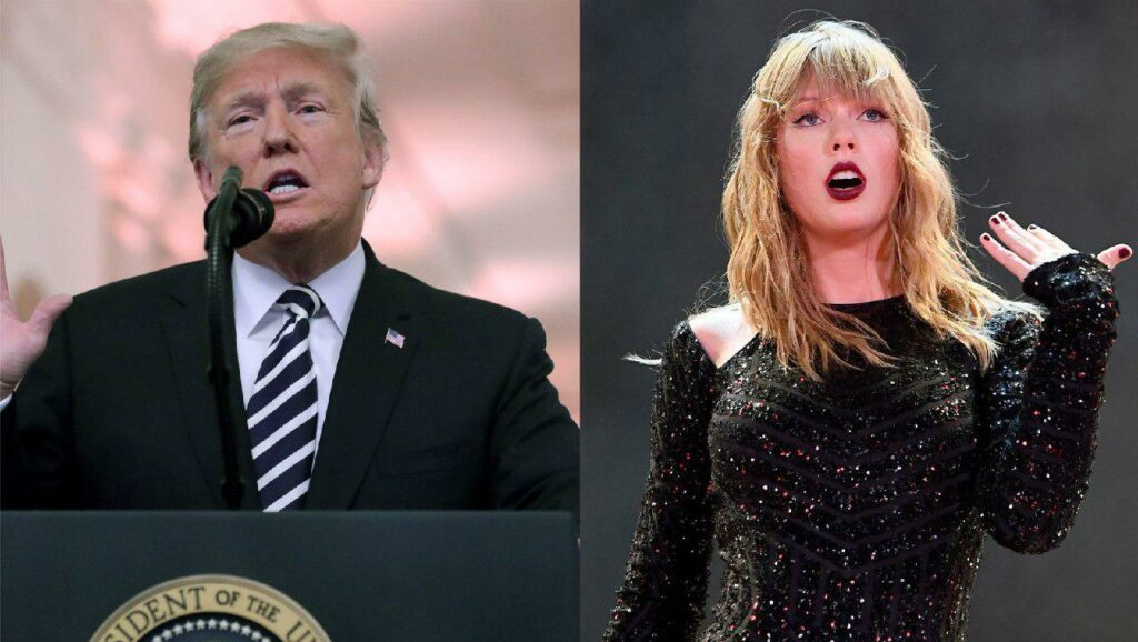 Taylor Swift's support of election
