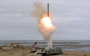 The US post-INF cruise missile was tested