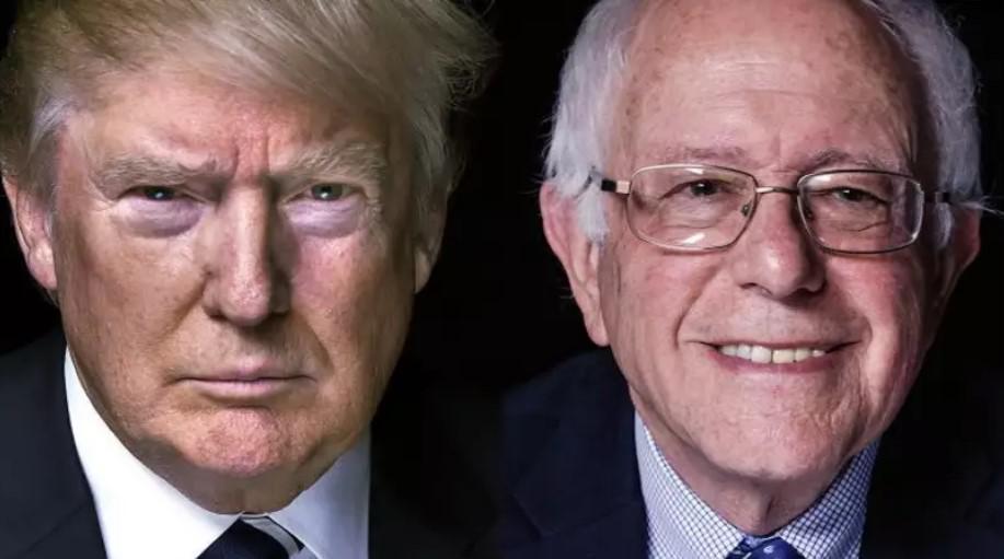 Sanders calls Trump AN IDIOT on Twitter
