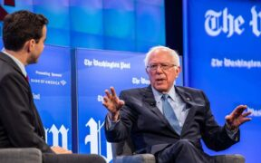 Washington Post calls Bernie Sanders' Accusation a ''Conspiracy Theory''