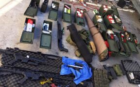 Threatened shooting at California included multiple guns and hundreds of rounds of ammunition