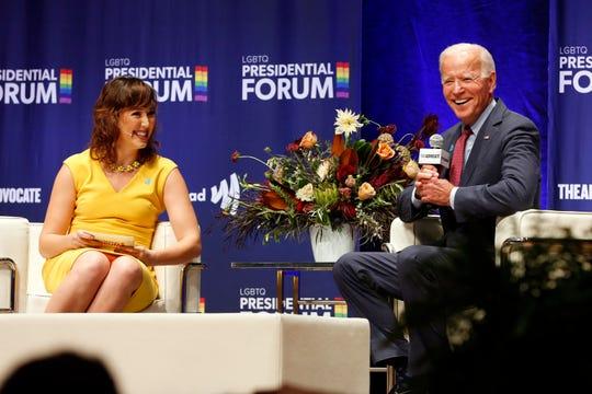 Joe Biden Clashed With Moderator in LGBTQ forum