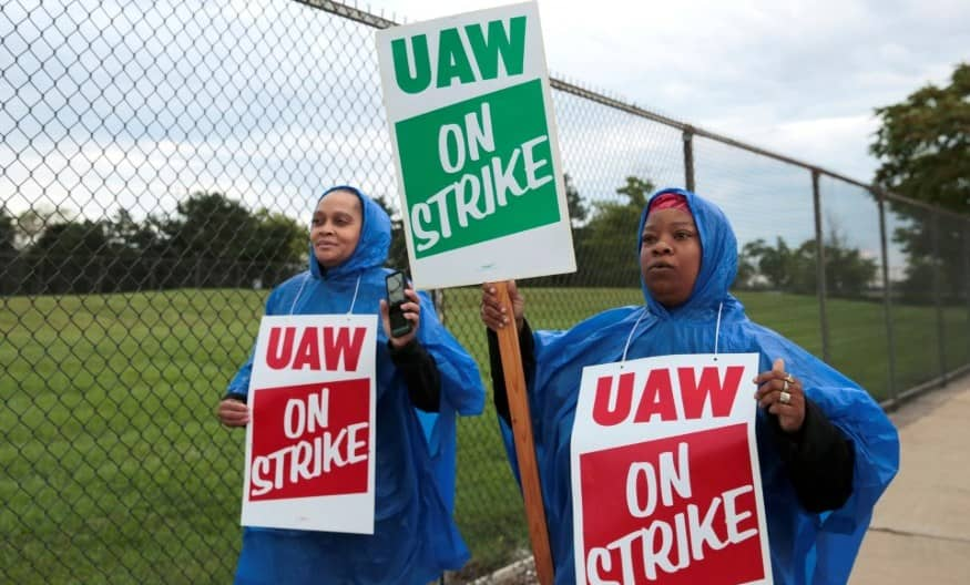 GM workers began Striking following failed contract negotiations.