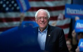 Sen. Bernie Sanders is leading in the New Hampshire