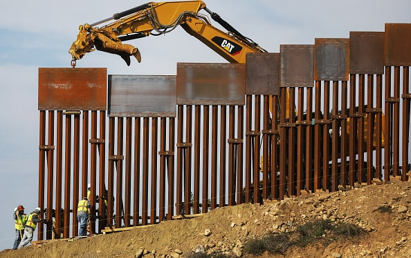 127 defense projects halted by the US military to fund Trump's border wall