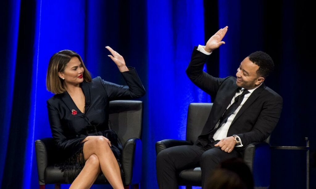 Chrissy Teigen and John Legend have long been outspoken opponents of Trump,