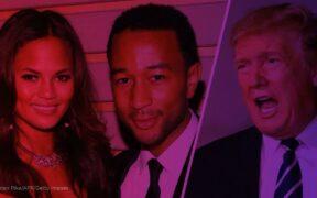 Chrissy Teigen and John Legend have long been outspoken opponents of Trump