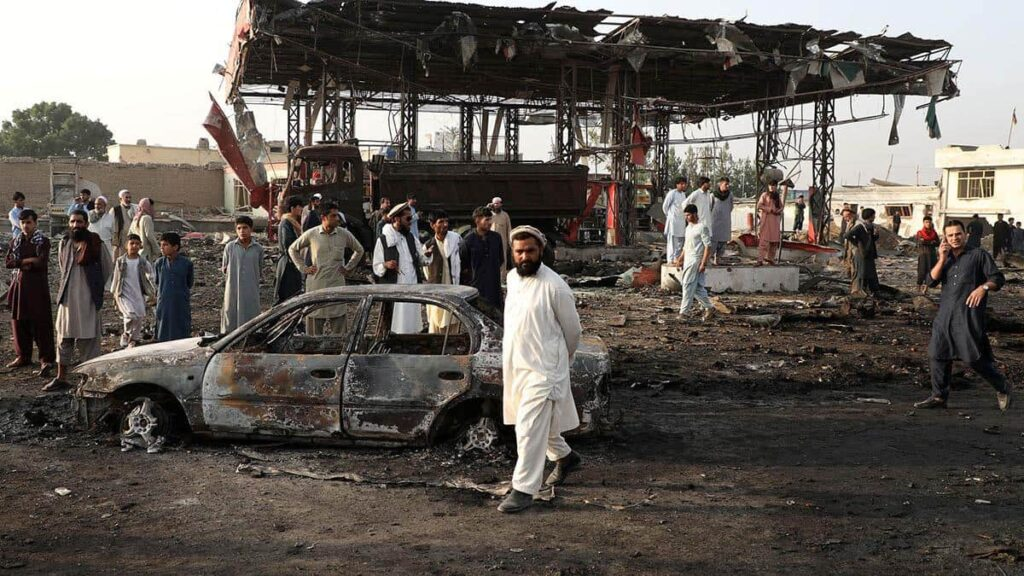 Donald Trump canceled negotiations with the Taliban after a bloody attack in Kabul