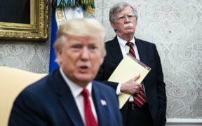 Trump said he fired John Bolton, citing disagreements