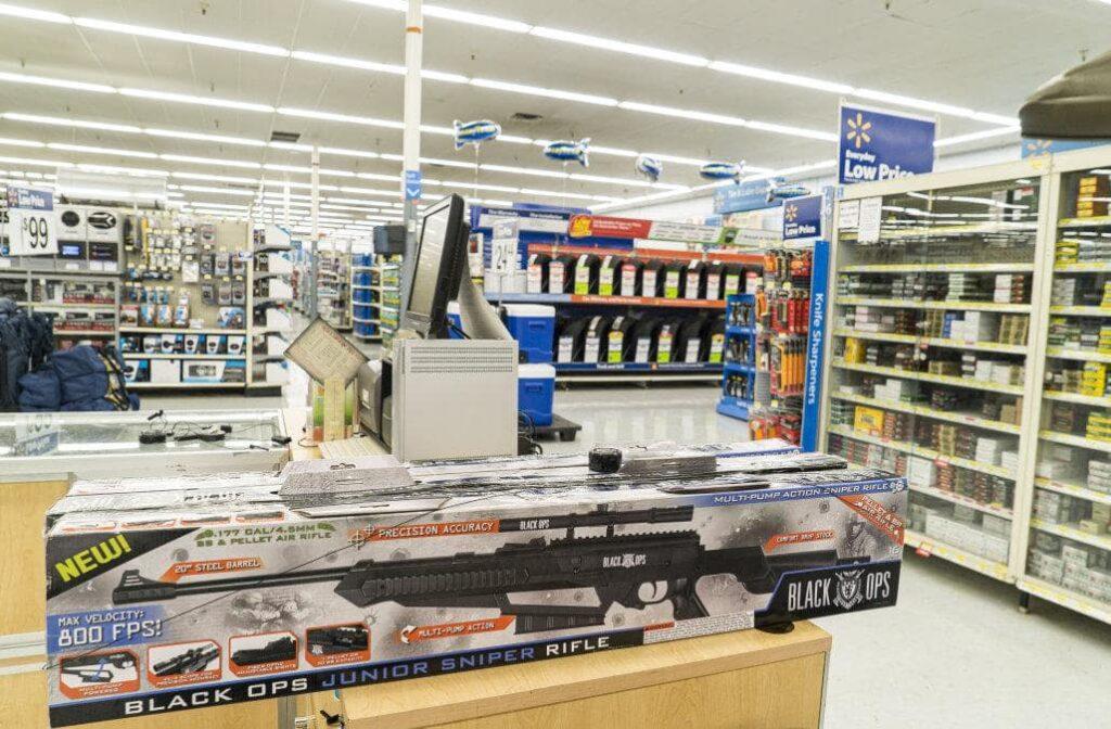 Walmart stated it will reduce gun sales