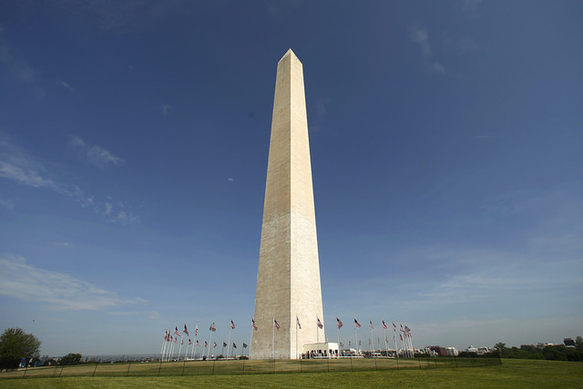Washington Monument Elevator broke down Saturday afternoon