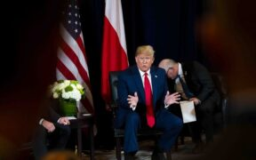 Trump's Ukraine call followed has become a questionable issue