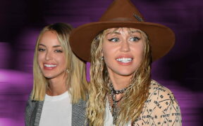Miley Cyrus and Kaitlynn Carter were snapped appearing to kiss