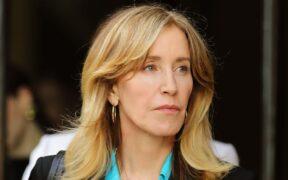 Felicity Huffman jail term started