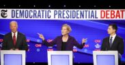Senator Elizabeth Warren, was attacked through presidential debate