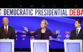 Senator Elizabeth Warren, was attacked through presidential debate