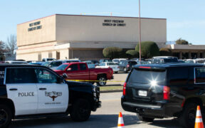 Shooting at Texas Church Leaves 2 Dead, and 1 wounded