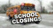 closing of schools and delays