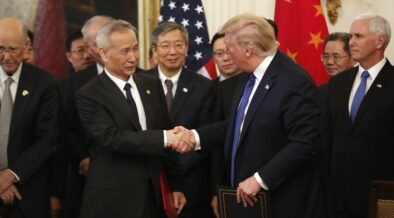 Phase One Of the US-China trade deal signed Wednesday