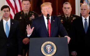 Trump spoke about responding to Iran Missile Strike, No War, More Sanctions