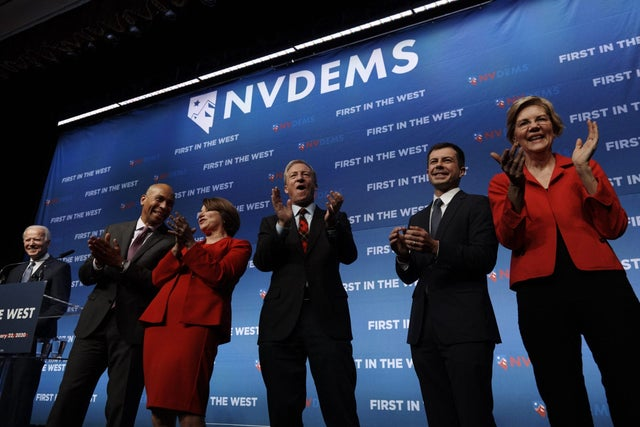 presidential candidates are now focusing on the next state, 2020 Nevada Democratic Caucus