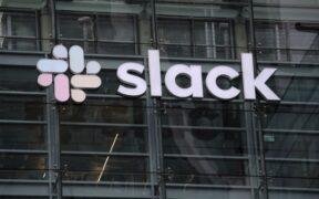 IBM Slack Stock shares soared Monday, company announced.