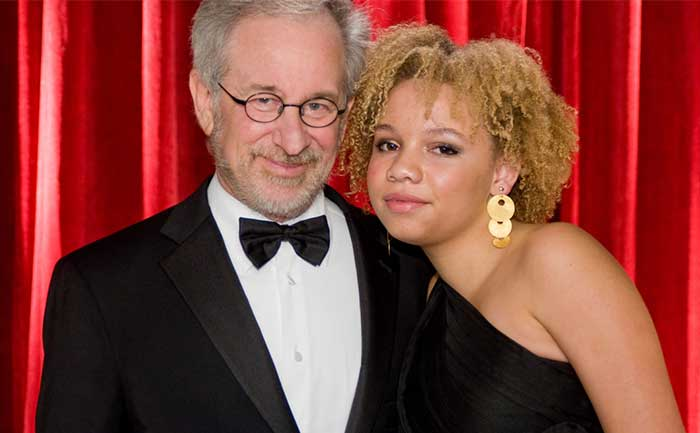 Mikaela Spielberg, daughter of Steven Spielberg is an adult entertainer