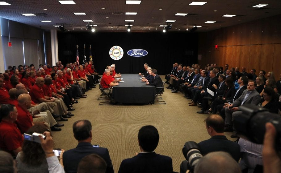 UAW workers will receive $7,600 in Ford Profit Sharing checks