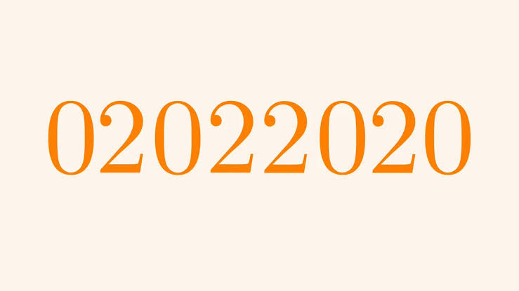 Sunday, First 2020 Palindrome Day in 909 Years - USdayNEWS