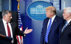 President Donald Trump inject disinfectant statement reflected reactions from cleaning producers on Thursday.