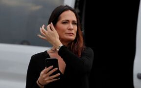 Stephanie Grisham' Out from her position as White House press secretary.