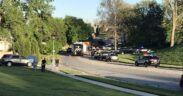 Overland Park shooting involved a police officer during which an exchange of gunfire sprang.