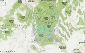 An earthquake in Cascade briefly shook parts of south-central Idaho on Thursday