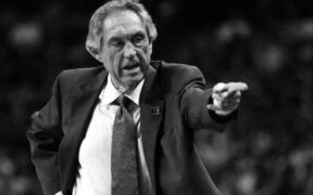 Legendary Arkansas basketball player and Head Coach, Eddie Sutton, died at 84