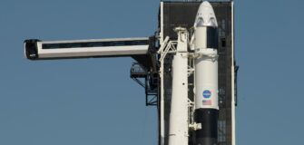 Historic NASA SpaceX launch delayed due to weather constraints
