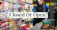 A high-level overview of Memorial day 2020 open stores and closed ones provided here.