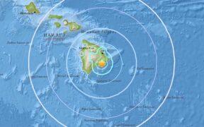 A moderate 4.5 earthquake Big Island Hawaii felt by thousand of people