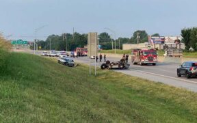 Tulsa police are responding to Highway 169 Tulsa accident near Pine on Thursday morning