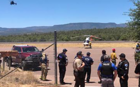 Polles fire helicopter crash occurred in the Payson area