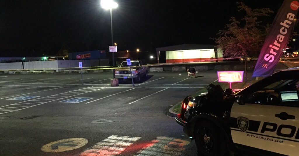 One person shot in McDonald's in Puyallup