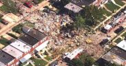 at least four people are critically injured in a gas explosion in Maryland, Baltimore