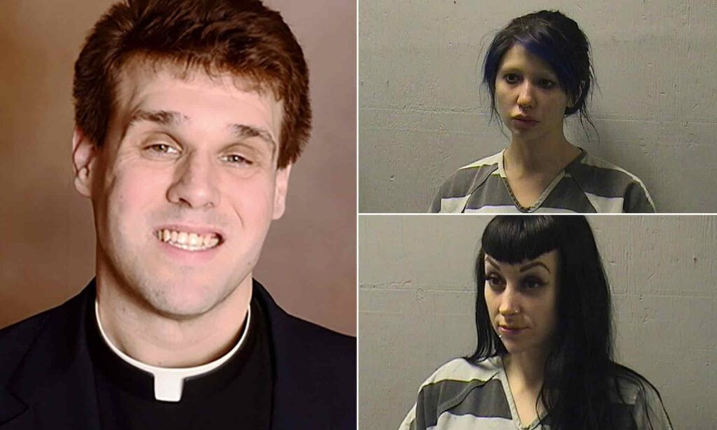 Catholic priest who had sex filming in Louisiana's church was arrested after allegedly filming himself having sex in church altar.