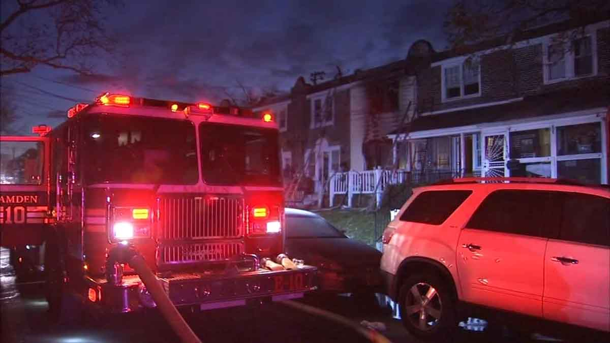 Fire in Camden NJ Apartment Leaves at Least 2 Dead, 7 Injured