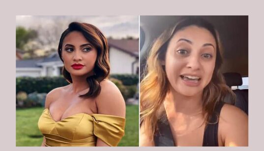 Francia Raisa crashed after she was boxed in Trump rally