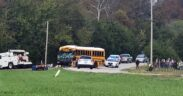 At least two people have been killed in a Meigs County, Tennessee school bus crash