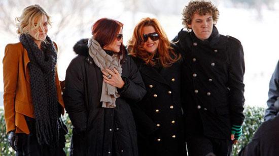 Benjamin Keough's Funeral news was on the Graceland Facebook page of Elvis Presley.