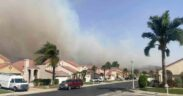 Brush fire in Corona, led to evacuations order