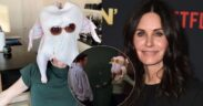 """Good for """"Friends"""" fans, they have a nostalgic gift! Courteney Cox's turkey dance was recreated"""